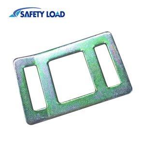 35mm Yellow Zinc Plating One Way Lashing Buckle