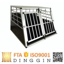 double transport dog cage car