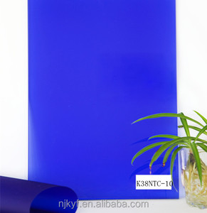 transparent blue eva film/eva film for laminated glass