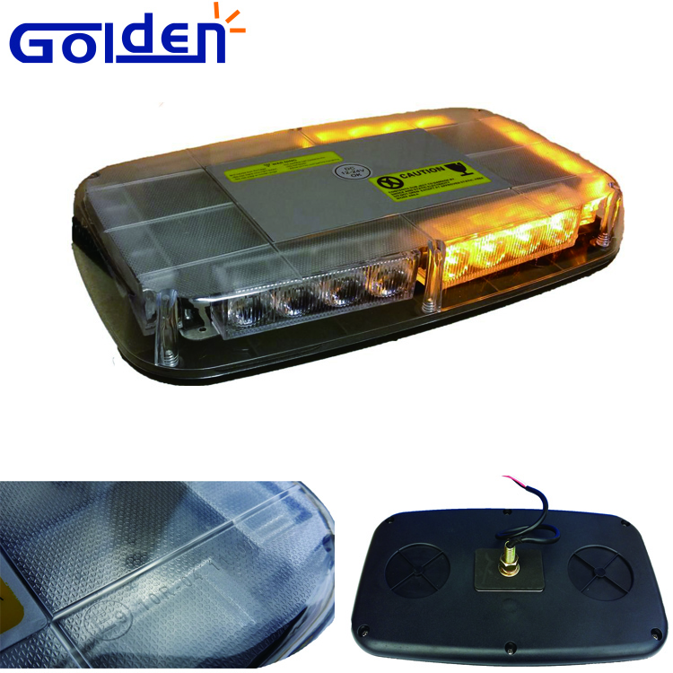 Amber mini led beacon bar light used in emergency