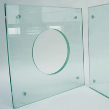 8+1.52pvb+8 clear laminated tempered safe glass