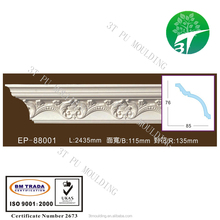 EP-88001 decorative 3T PU foam cornice moulding