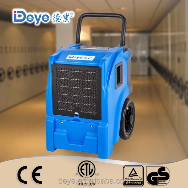 DY-55L adjustable humidistat roto molded industrial dehumidifier