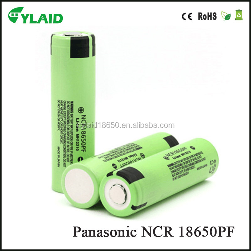 automotive battery 3.7V 2900mah vape battery NCR18650PF li-ion rechargeable battery 18650