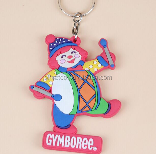 2016 New arrival Low price gifts 3D soft pvc keychain / soft pvc keyring / christian keychains gift