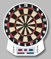 Electronic Bristle Dart Game