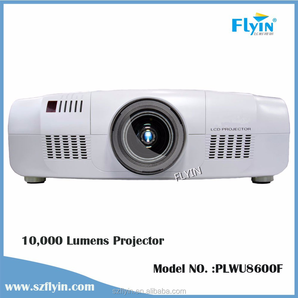 FLYIN PLWU8600F Multimedia Large outdoor Venues holographic 10000 lumens projector
