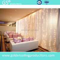 Vietnamese wedding decorations, wedding stage backdrop , wholesale pipe and drape