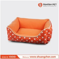 Durable dog bed pet bed with removable cushion