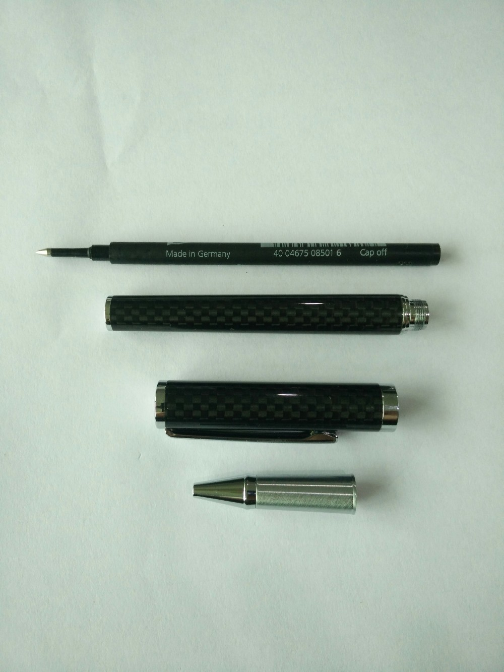 Hot Selling Friends Gift Ballpoint Pens Carbon Fiber Signature Pen cheap promotional signature pen printing with LOGO