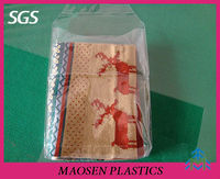 Transparent PVC plastic pillow bag, pillow case packaging clear packaging bag for pillowcase