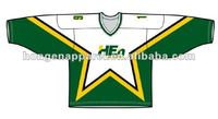 2014 Custom Sublimation European Hockey Jersey For Hot Sale