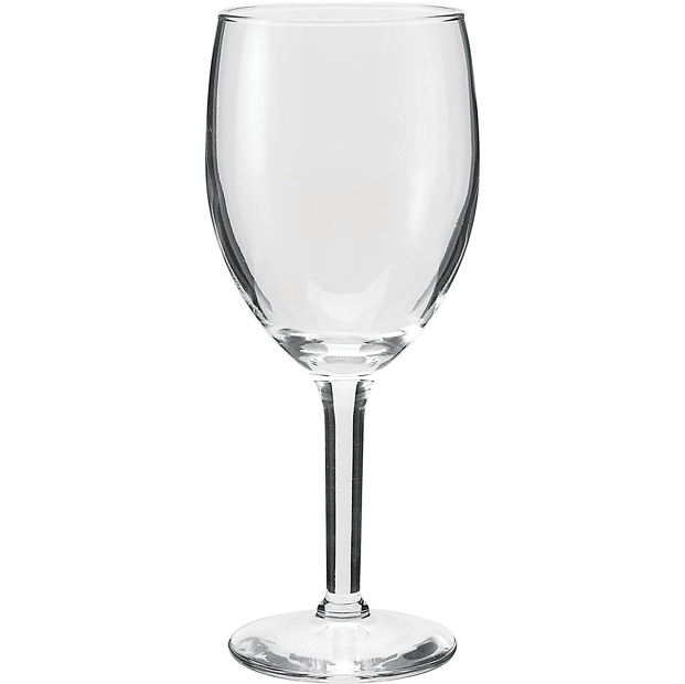 Fashion cheap advertising 250ML crystal wine glass