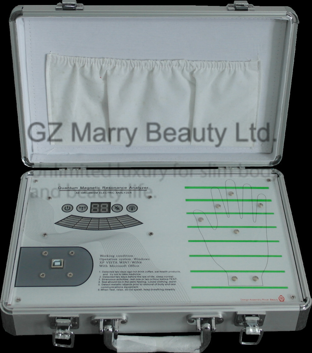 2015 latest touch quantum resonance magnetic analyzer