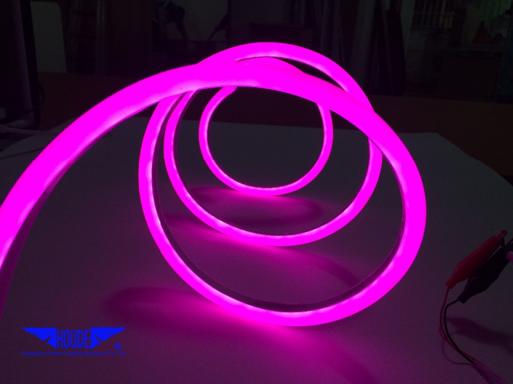 100m/roll cutable neon smd 2835 led strip led rope RGB