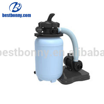 New design 250MM pool sand filter with FIJI pump and top valve
