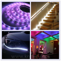 UL Approved flexible kitchen lighting 5000k 5050 smd led strip light