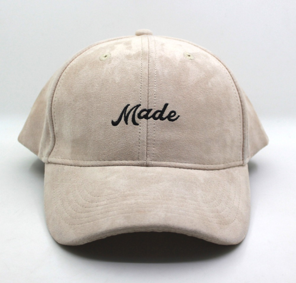 Customized wholesale OEM ODM custom embroidery logo 100% polyester suede baseball cap, cap <strong>hat</strong>