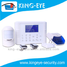 12V power off with siren flashing and SMS notice, high quality touch panel intelligent wireless home alarm APP