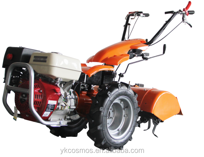 13HP two wheel tractor, gear drive tiller cultivator