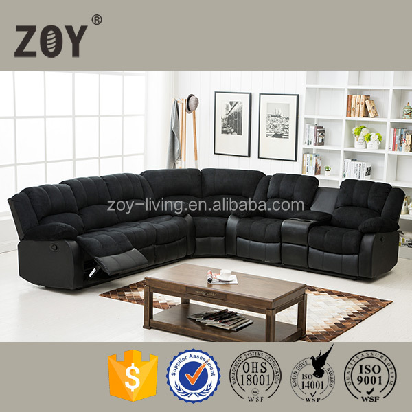 Modern hot selling 1 2 3 seat living room furniture comfortable leather sectional sofa ZOY-93931