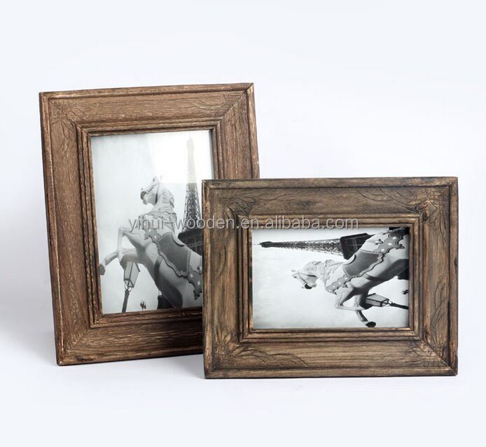 vintage picture frame shabby chic wood photo frame for wholesale