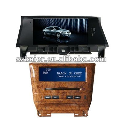 KR-8004 8'' car DVD/central multimedia/dash in dvd/radiodvd/in car entertainment FOR HONDA ACCORD(2008)