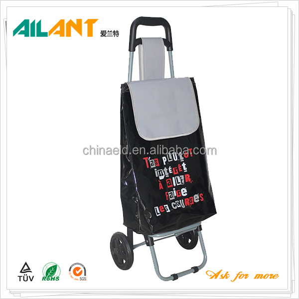 Folding portable manufacturers price hypermarket shopping trolley