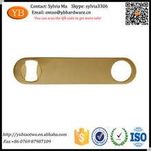 Eco-friendly Personalized Custom Gold Plated Sheet Metal Openers