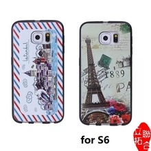 Soft TPU Case for Samsung Galaxy S6, for Galaxy S6 cartoon characters Phone Case