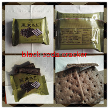 black rice soda cracker cereal biscuit