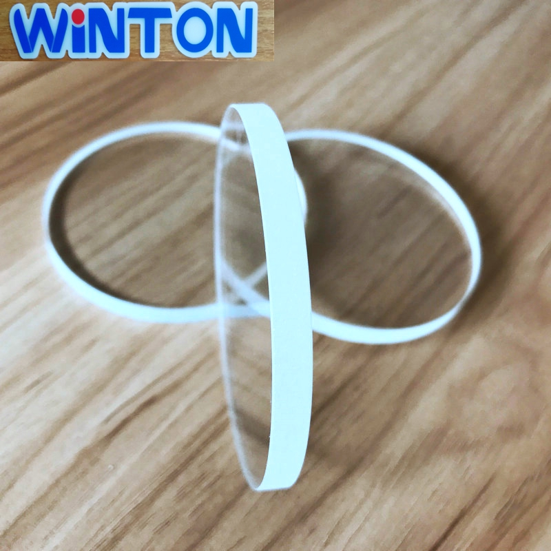 Winton heat resistant and low inflation rate sight glass disc