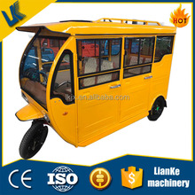 Wholesale 1000W Brushless Gear Motor electric tricycle adults/6 passengers bajaj three wheeler price
