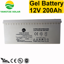 First grade 12v200ah quality korea dry battery for inverters