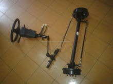 6kw electric vehicle front axle steering system