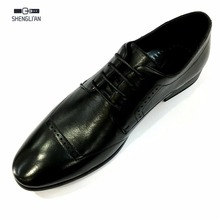 Top quality official pointed toe lace up mens dress shoes