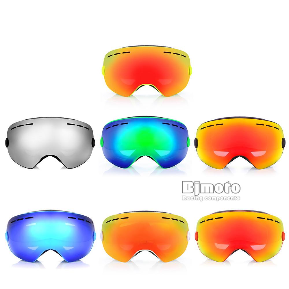 Detachable Motorcycle Sking Goggles Anti-fog Double lens 3 Layer Foam UV400 Ourdoor Ski Snowboard Mask Moto Gafas Oculos (4)