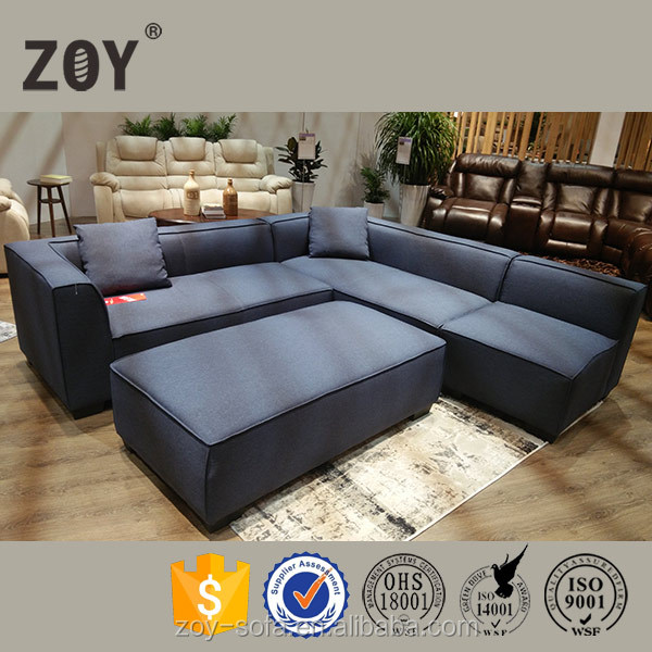 2016 New living room furniture Shape Unique Sectional Sofa Set ZOY-99160