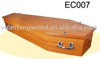 EC007 china low price products coffin for the dead