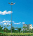 25m 30m high mast light with 400w LED light