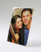Acrylic sex picture photo frame bent hot selling