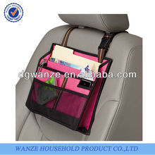 decorative Pink Front seat Driver Organizer car organizers auto accessories
