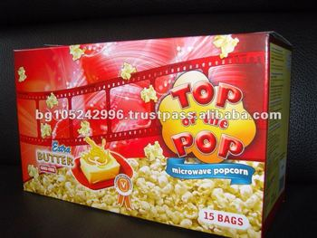 Display Box Extra Butter Microwave Popcorn