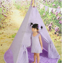 India camping Children Canvas teepee tents for sale