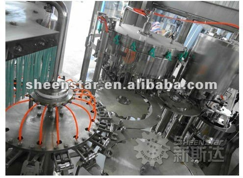 machine soda bottle packing for beverage industry