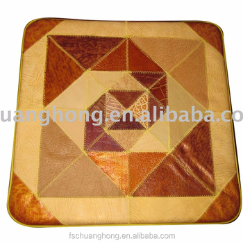 Leather Seat Cushion with good quality foam