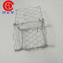 mesh wire 2.6mm/heavily zinc coated 100-300 gabion basket box wire fencing/gabion stone cost