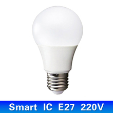LED lamp bubble ball bulb cold white 220V E27 Energy Saving Lamp 3W 5W 7W 9W 12W suitable for home light living room bedroom