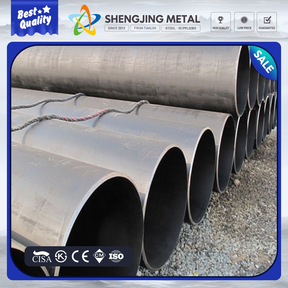"Trade assurance API 5L X70 3PE coating 42"" LSAW steel pipe for building material"