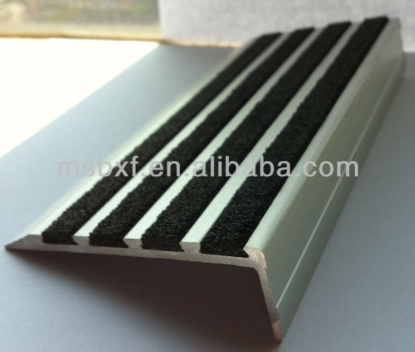 plastic stairs step/Aluminum stair nosing/residential stairs